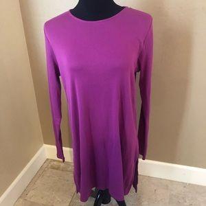 J.Jill Long-Sleeved Tunic ( Medium Tall)